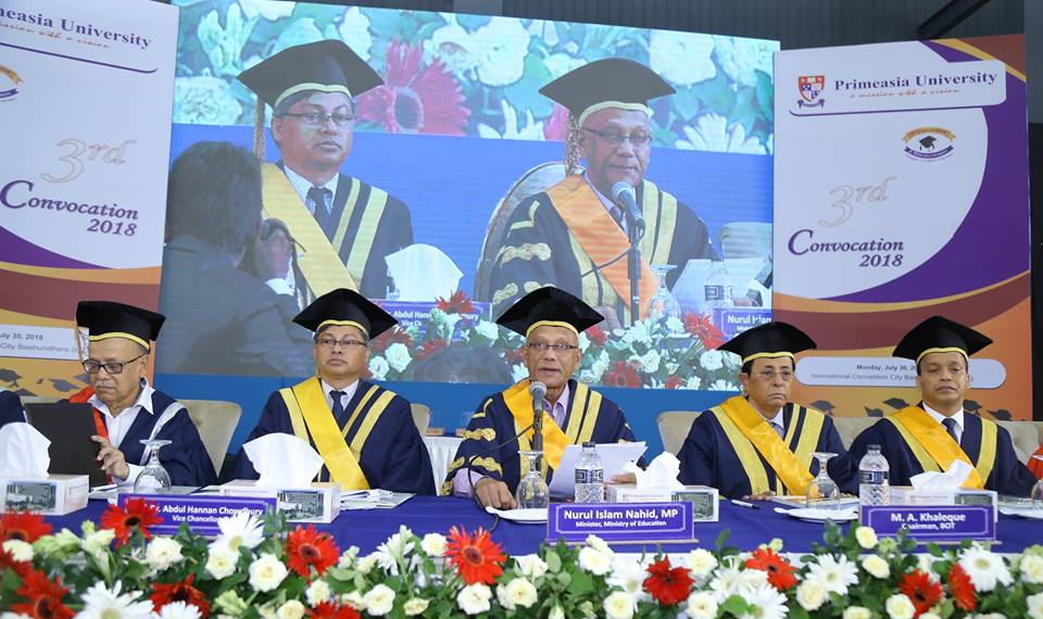 primeasia 3rd convocation